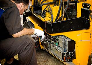 Forklift Servicing Industrial Forklift Truck